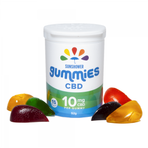 CBD Sunshower Gummies 150mg CBD
