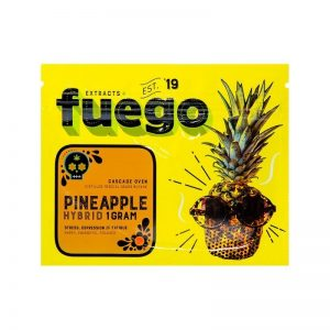 Pineapple Shatter – Fuego Extracts