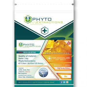 Red Congolese Shatter – Phyto Extractions