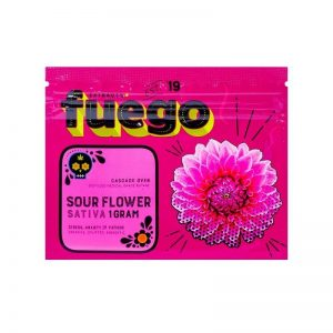 Sour Flower Shatter – Fuego Extracts